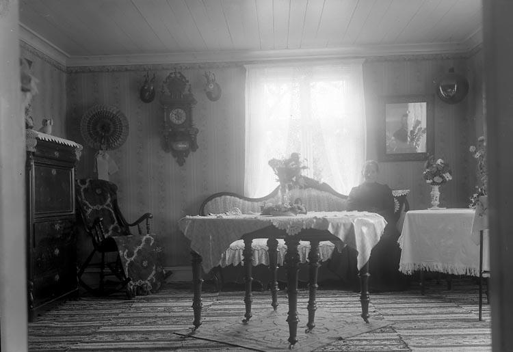 """Enligt fotografens journal nr 2 1909-1915: """"Svensson, Adolf Röd Haga J-da""""."""
