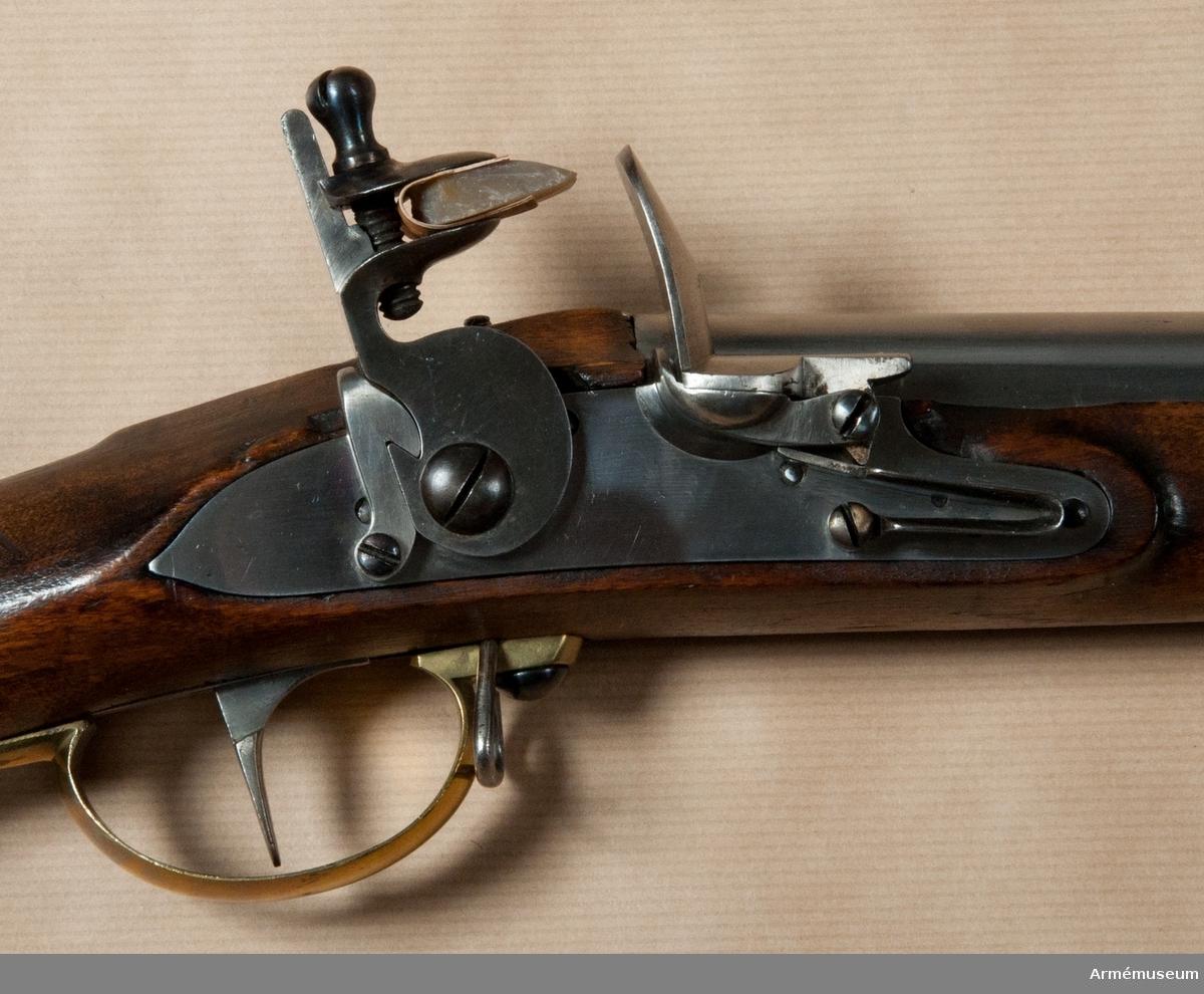Grupp E II b.  Samhörande nr är: 23620 - 1, gevär, bajonett.