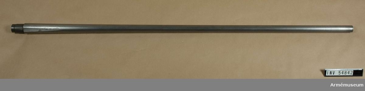 Grupp E VIII.  Nr 3 (av 14) i tillverkningsordningen. Gevärsdel till 1867 års gevär m/1867, en av c:a 400 delar.