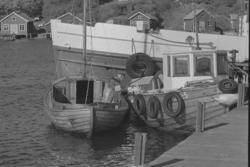 Langegärdes brygga på Sydkoster 1978