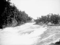 Gullöfallet, Trollhättan den 1 augusti 1899