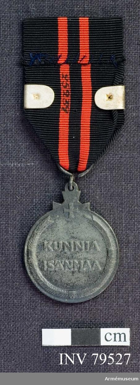 Utdelas för deltagande i 1939-1940 års krig