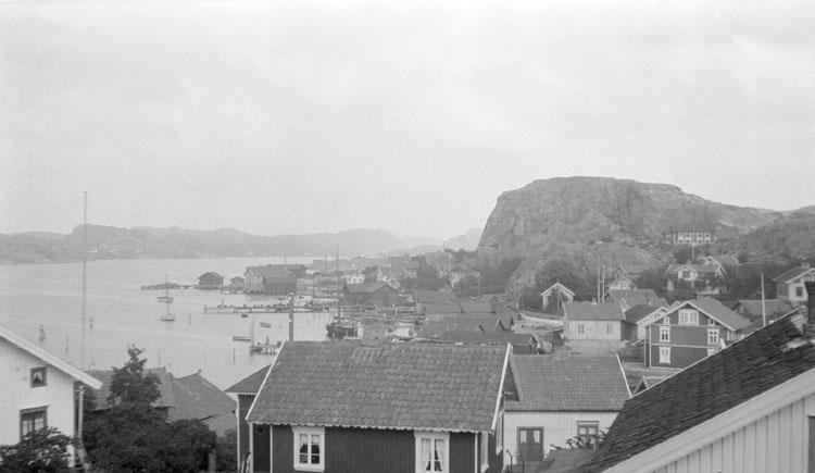 Enligt senare noteringar: Korpåsberget, från berget i syd. 23 Augusti 1922.