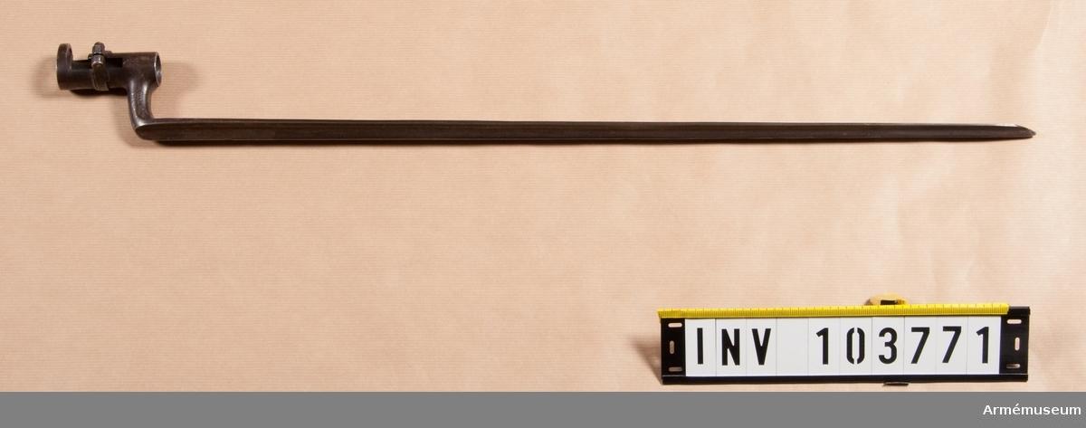 Bajonett till gevär m/1860