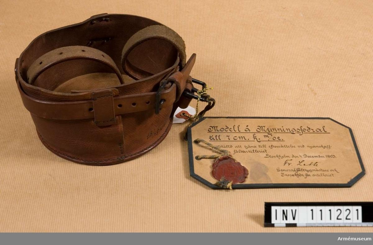 Mynningsfodral m/1903