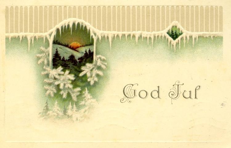 Kort: God Jul.