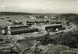"""Text till bilden""""Uddevallavarvet låg här från 1946 till nedl"""