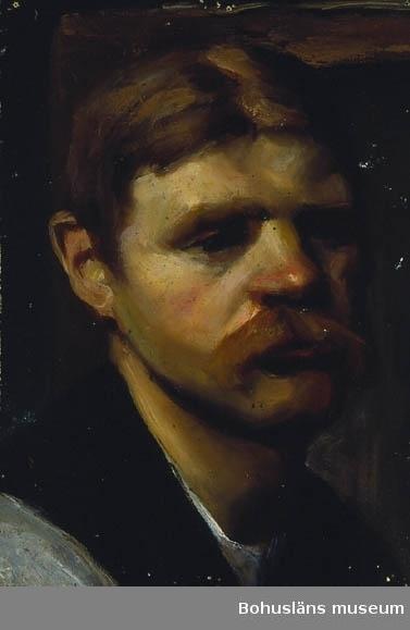 Montering/ram: Monterad, Konstakademien Stockholm. För uppgifter om konstnären Ragnar Ljungman, se RL001.