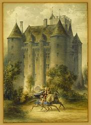 Nyköpings gästabud 1317 [Illustration (?)]