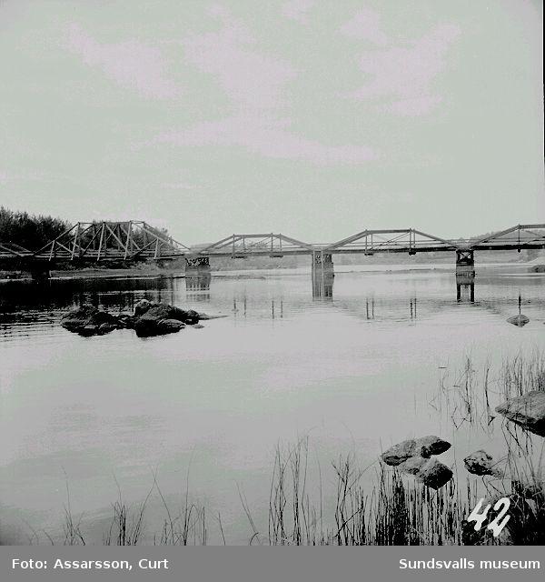 Bron över Ljungan.
