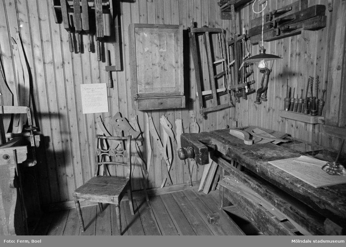 Mölndals museums basutställningar: lindomesnickeriet.