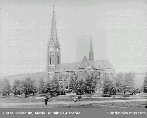 Gustav Adolfs kyrka.