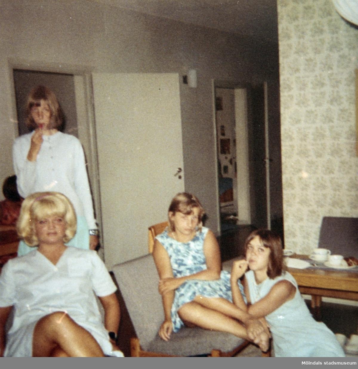 Elever vid Skolhemmet Stretered på 1970-talet.