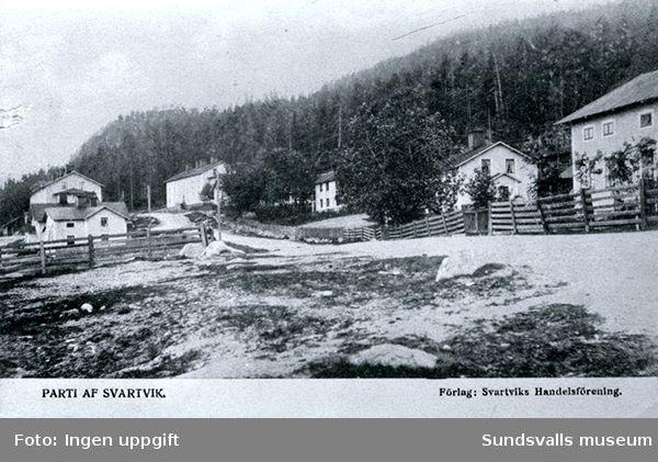 Parti av Svartvik.