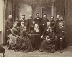 Familiene Nannestad, Serck, Angell, Hanssen.