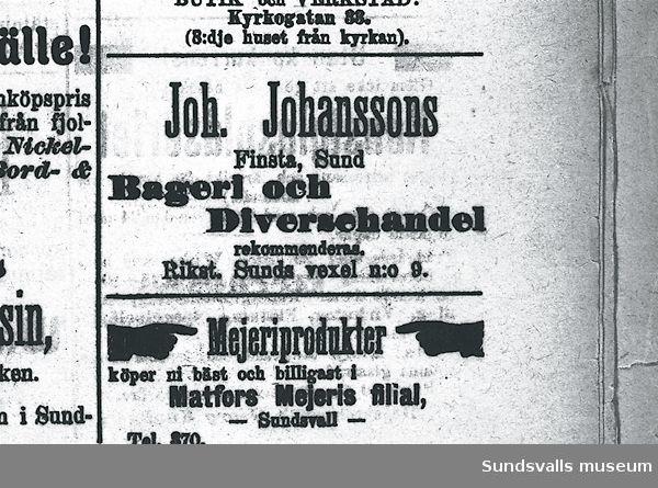 Joh. Johanssons bageri och diversehandel