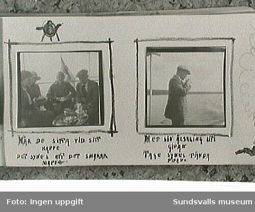 Amatörfotografiet från resa till Trondheim sommaren 1915.