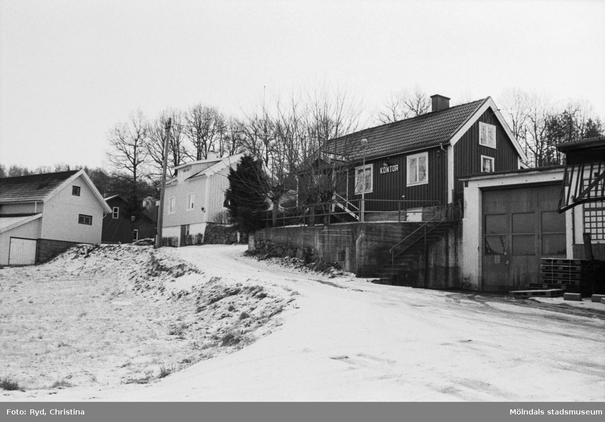 Enelunds affär på Hällesåkersvägen i Hällesåker, 1991.