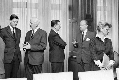 Centrala företagsnämndens första sammanträde för året,  den 2/2 1965.