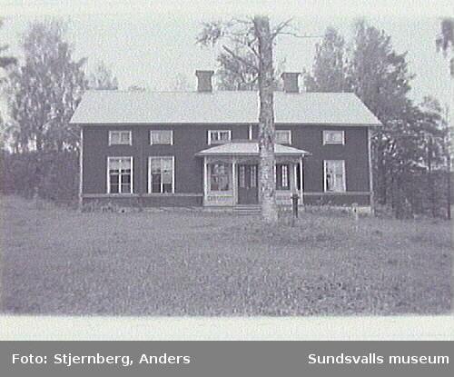 Kapell, skola och uthus i Norrböle. Byggnadsinventering.