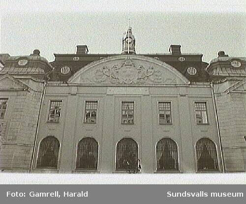 F.d. Museum, Riksbanken. o nu befinner sig försäkrings bolaget.