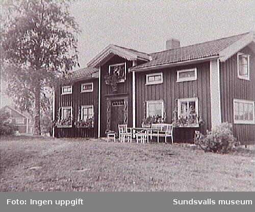 Tidigare familjen Barths sommarbostad i Näset, Norrfjolsta. Jacob Christian Barth (1858-1920) var disponent på Svartviks sågverk (Trävaru AB Svartvik).