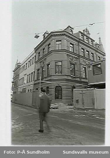 Restaurering av exteriör samt festsal 1992-93