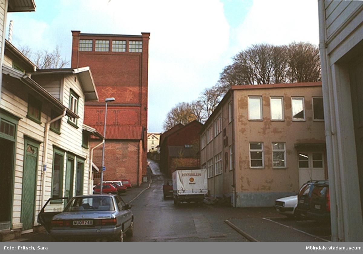 Götaforsliden i Mölndals Kvarnby, 1996.