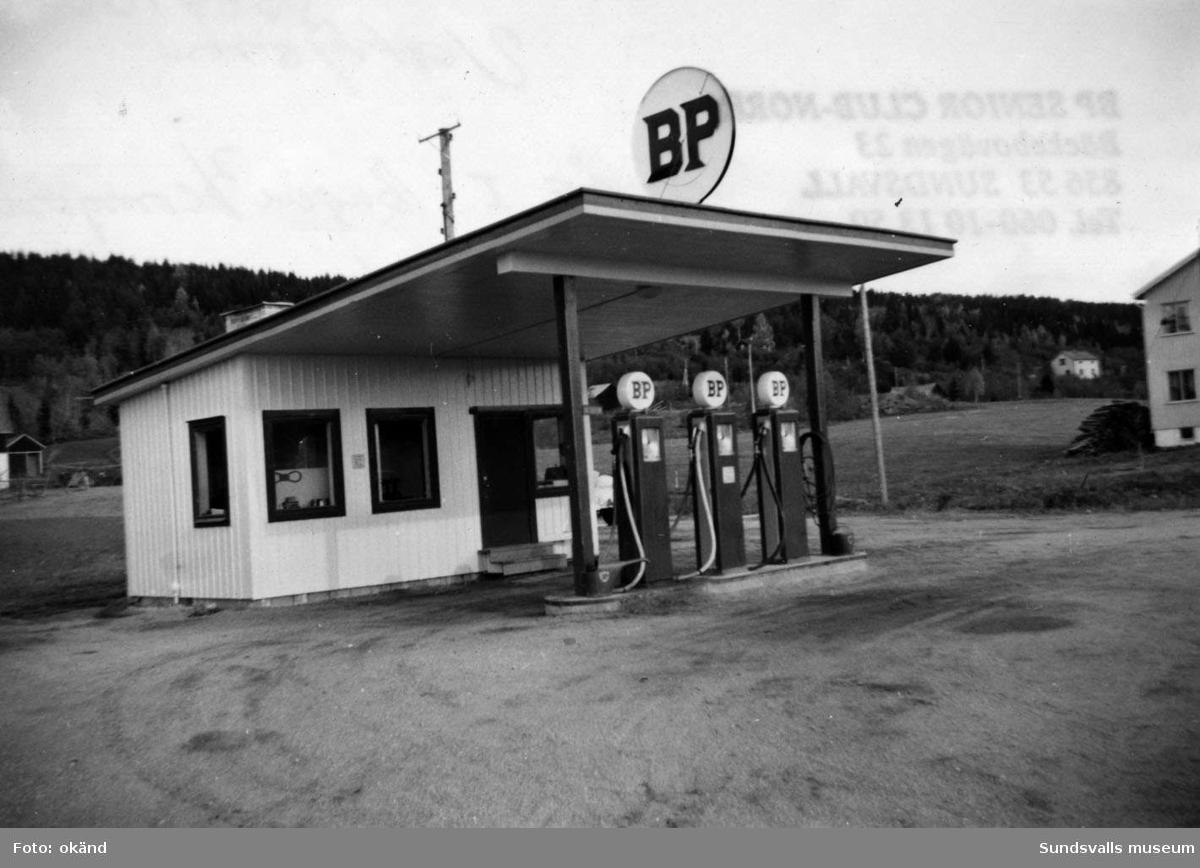 BP-stationen Vattjom, Sundsvall.