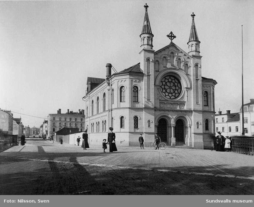 Sjömanskapellet, från öster