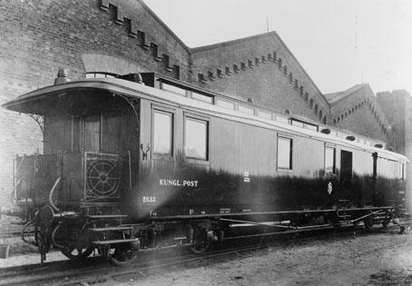 Järnvägspostvagn, litt. DF 03, 1920-talet