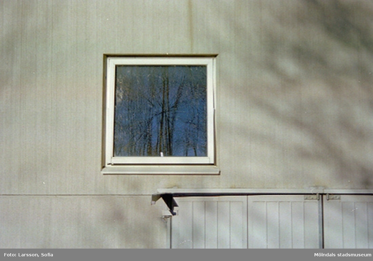 Papyrus/Stora Enso, fönster som sitter på ytterväggen till byggnad 103.
