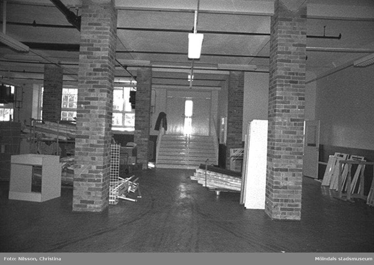 Werners fabriker, Lindome. Hösten 1994.