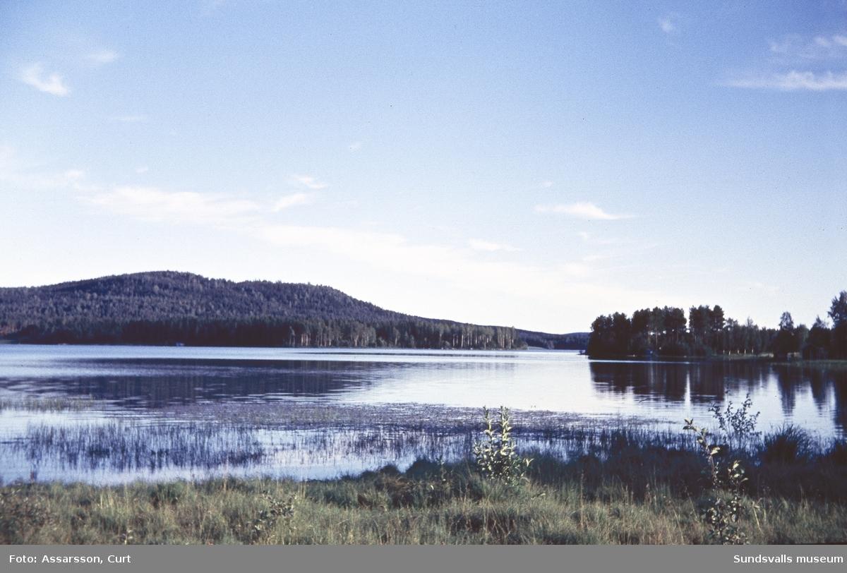 Nordanede mot Svartåsen.