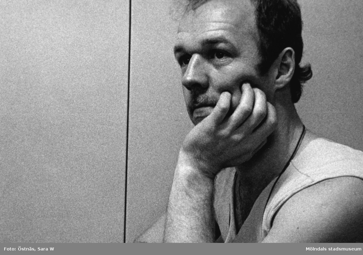 Jan Callesen har rast på Papyrus i Mölndal, år 1990.