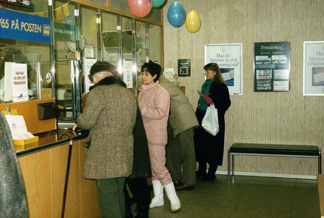 Postkontoret 500 07 Borås Döbelnsgatan 21