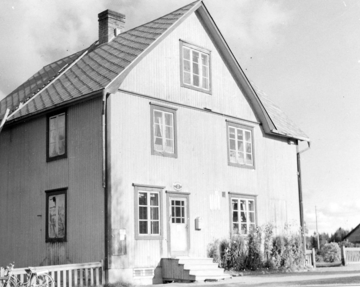 Poststationen Agnäs i Ångermanland, 1954.
