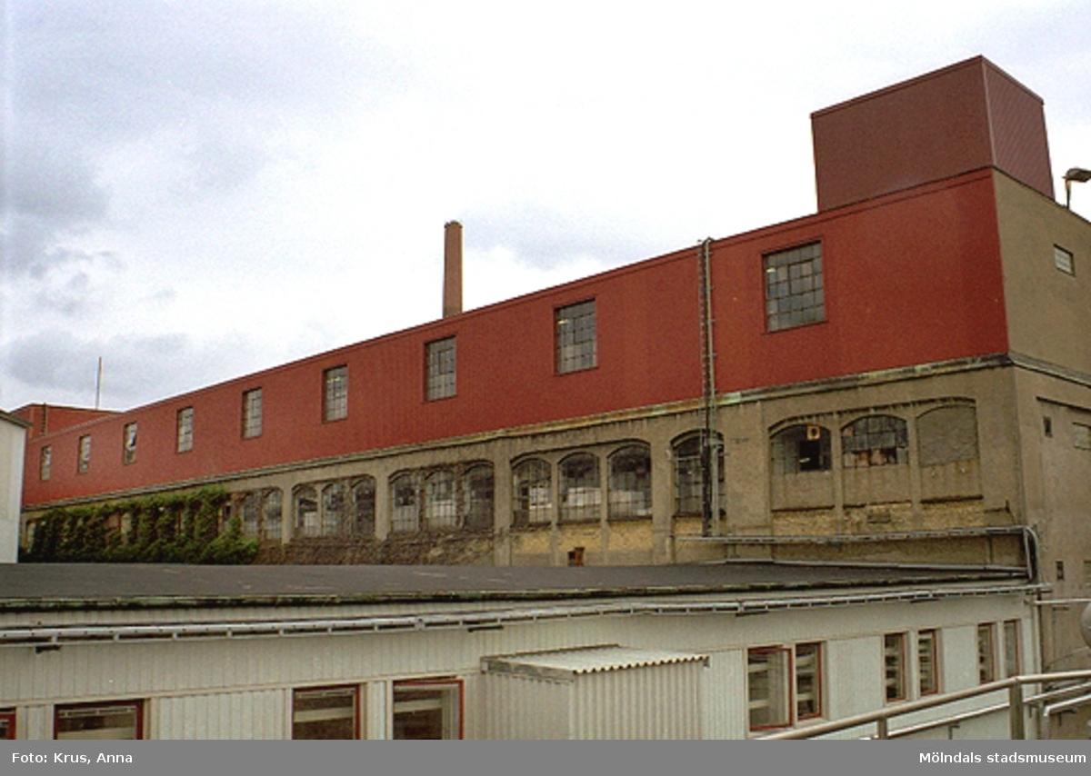 """Miljö - fabriksbyggnader  i Forsåker. """"Papyrus"""" (Forsåker 1:25)."""