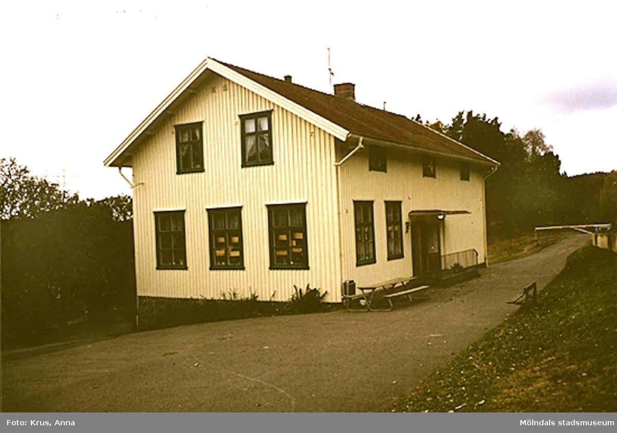 Norra kyrkskolan från 1903. Vid Sinntorpsskolan.