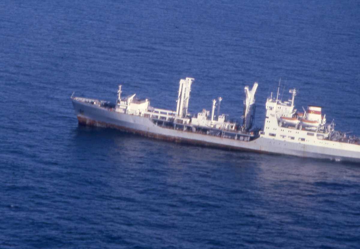 Russisk fartøy av Dubna - klassen.