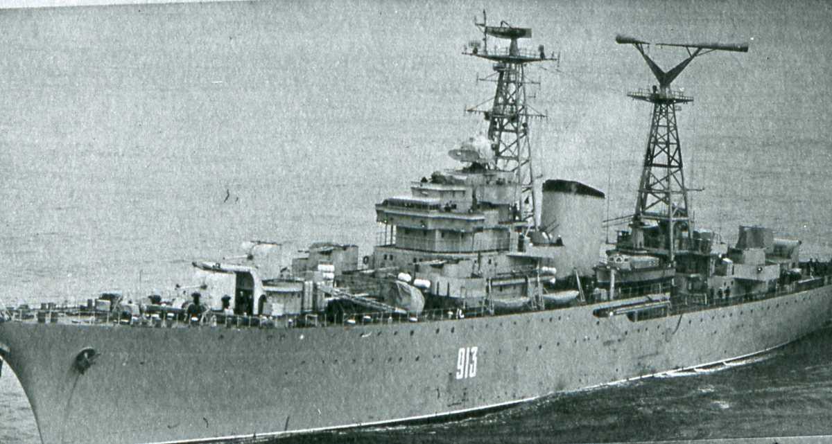 Russisk fartøy av Modifisert Don - klassen med nr. 913 og som heter Fedor Vidyaev.