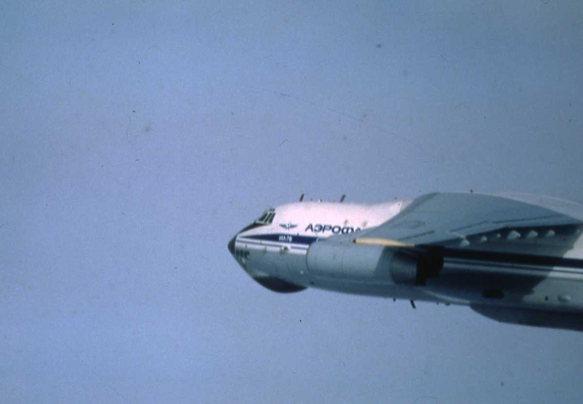 Russisk fly av typen Midas med merking CCCP-76689.