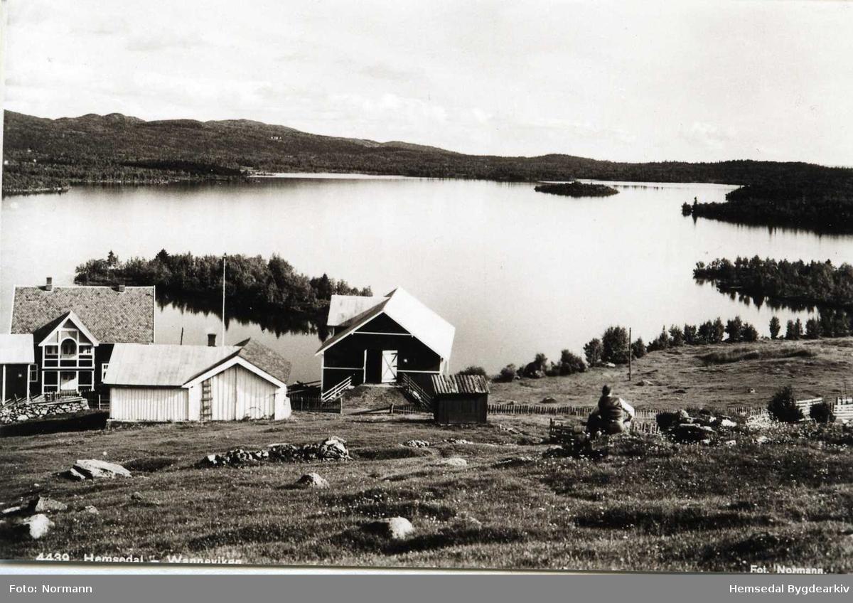 Vanneviken, 52-3, med vatnet Vannin i Hemsedal i bakgrunnen