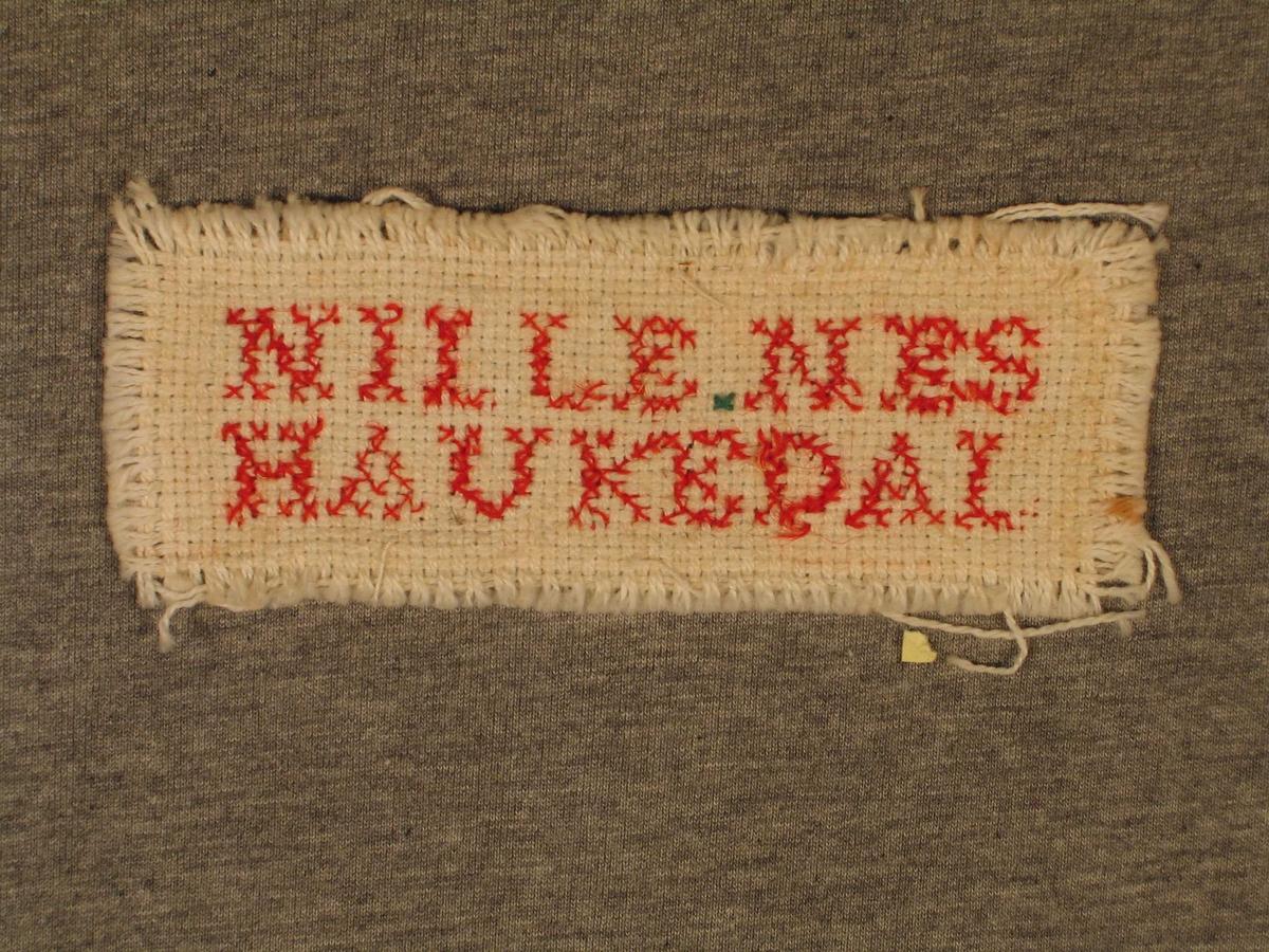 Brodert NILLE NES HAUKEDAL
