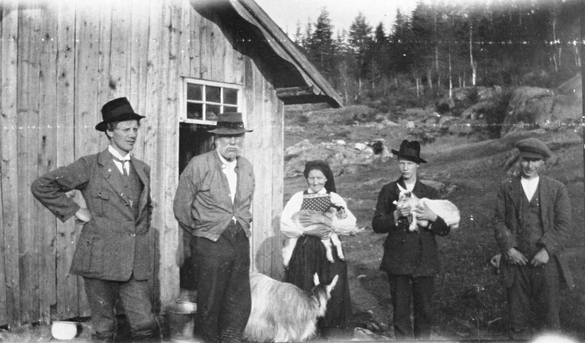 Olav Pålson Vollen og familie på Søberg