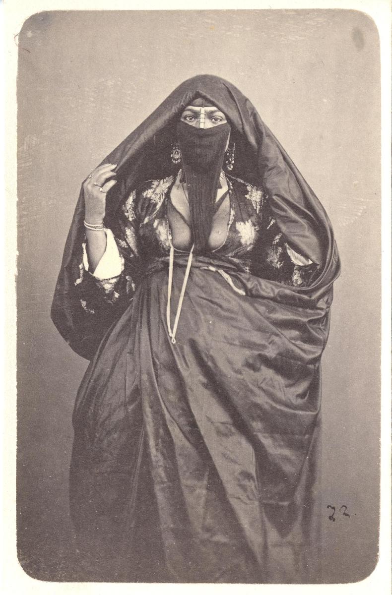 Porträtt, kvinna