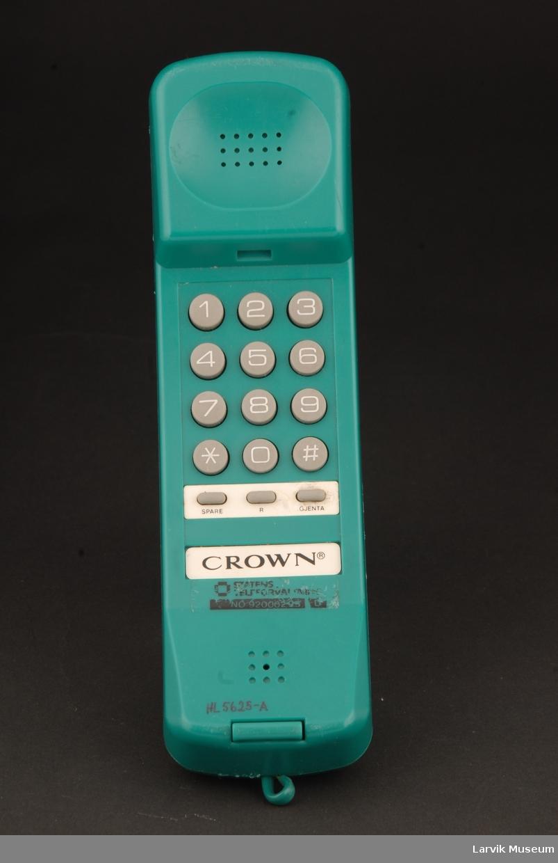 Telefon og tastatur i sammen.