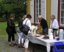 Berg-Kragerø Museums venner arrangerte  Jeia Homanns bursdag