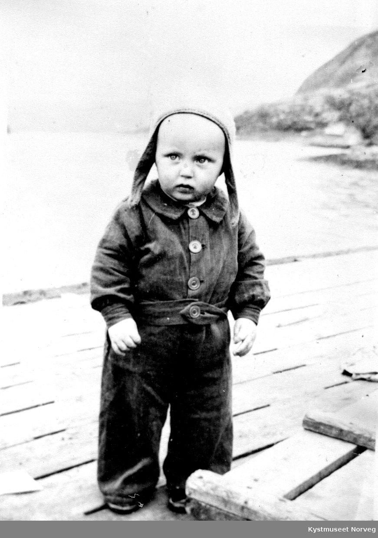 Bjørnar Einvik som liten.