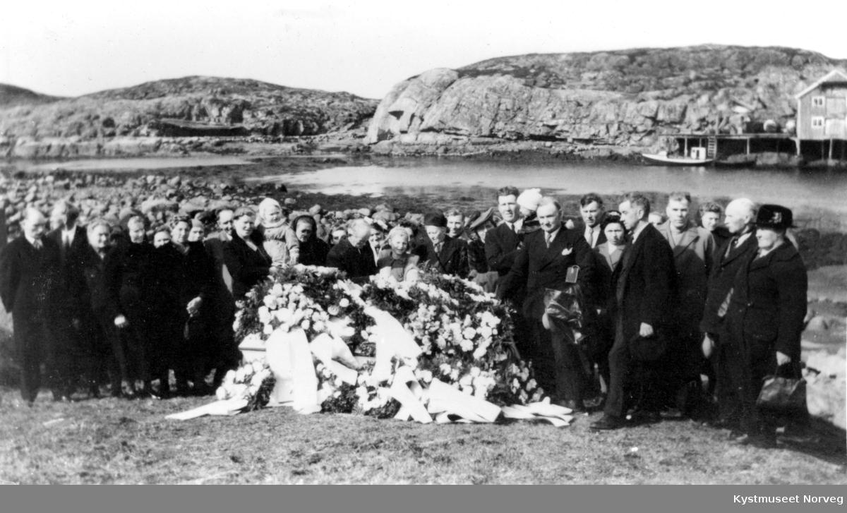 Begravelsen til Ole Hanø i Flatanger